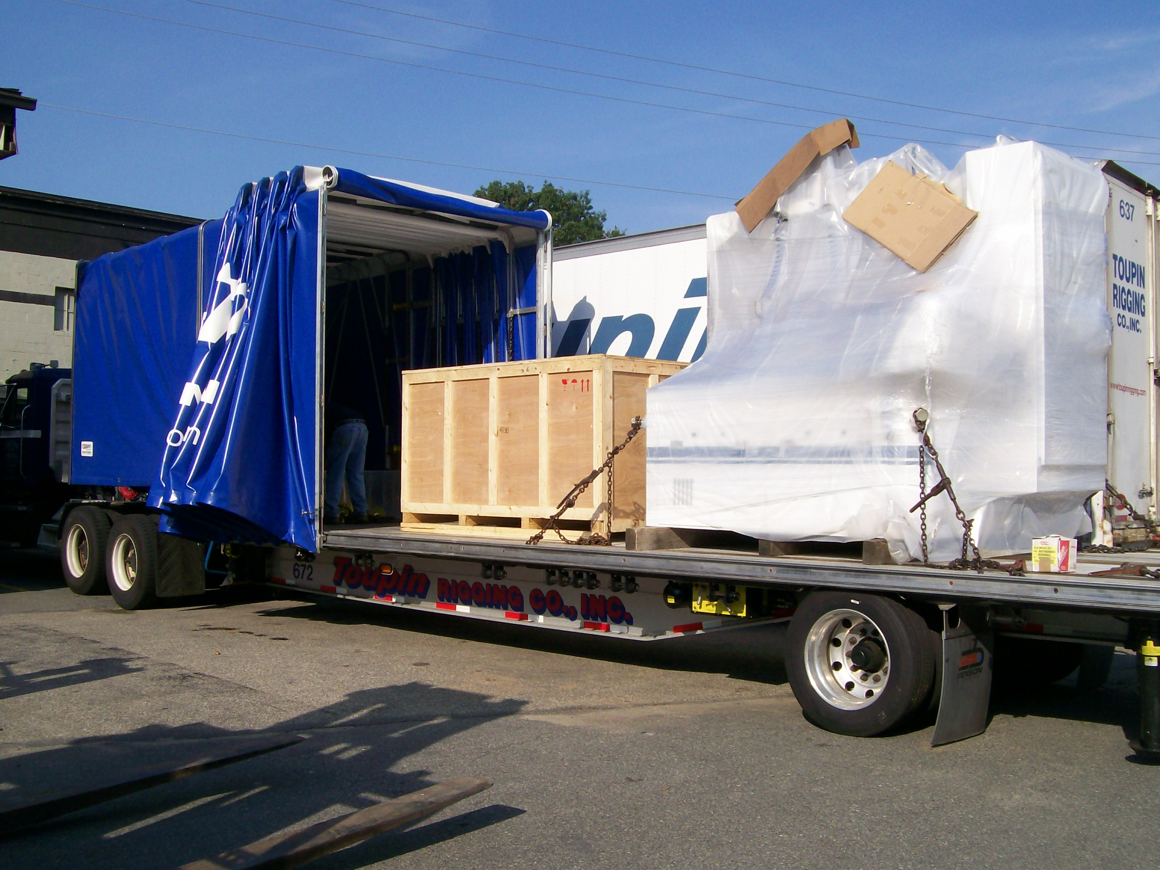 Toupin Industrial Warehouse Transportation